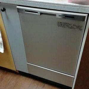 ビルトイン食器洗機 パナソニックNP-45MC6T交換工事【京都市北区紫野】