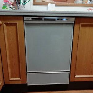 ビルトイン食洗機 NP-45MD8S 交換工事【京都市北区】
