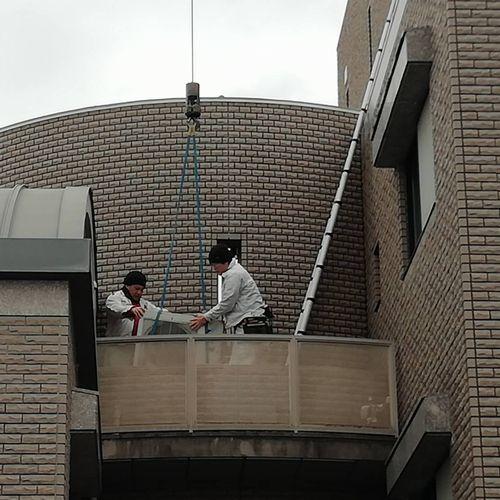 天井カセット式ハウジングエアコン交換工事【京都市北区】