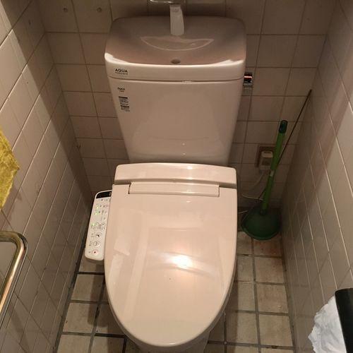 LIXIL アメージュZ トイレの交換(京都市北区上賀茂)
