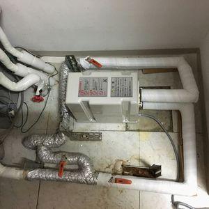 三相電機 SHC-1031 給湯加圧ポンプ (京都市東山区)