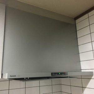 パナソニック レンジフード FY-90DED2 取替工事(京都市北区上賀茂)