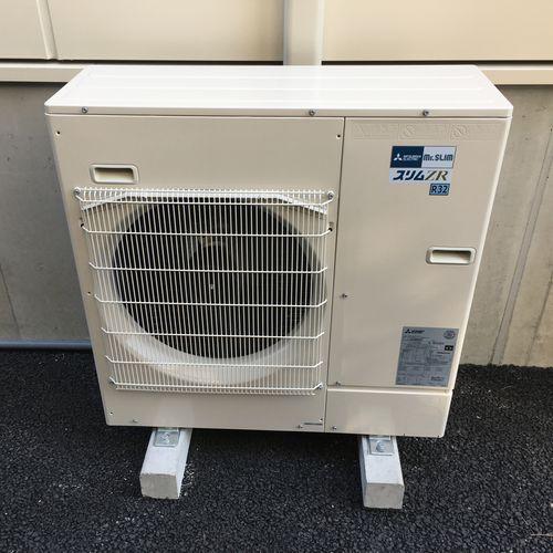 業務用エアコン 三菱電機 PLZ-ZRMP80EFM  三相200V 新設(京都市下京区)