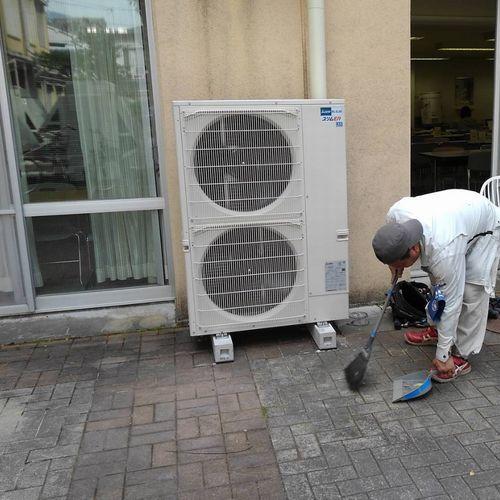 業務用エアコン床置形6馬力 PSZ-ERMP160KR(京都市北区)