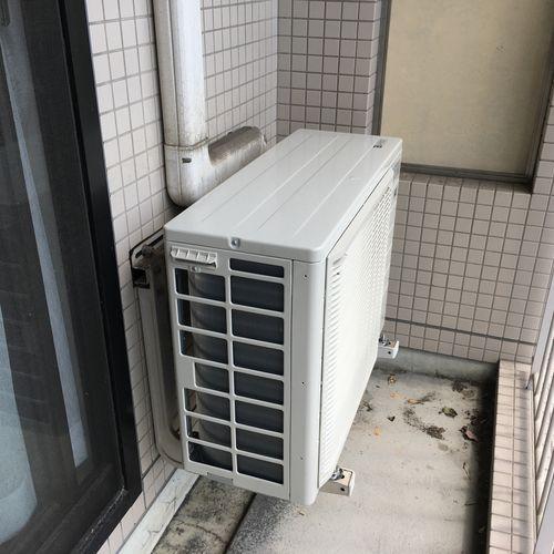 ダイキンエアコン交換 隠ぺい配管(京都市左京区)