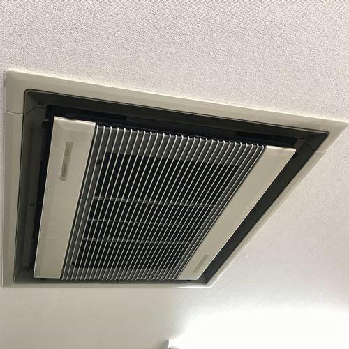 業務用エアコン ダイキン SZRC80BCT 天カセ4方向 (京都市北区)