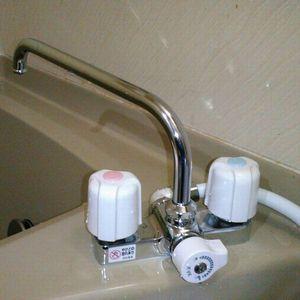 KVK  KF14ER2 浴室カランの交換(京都市右京区)