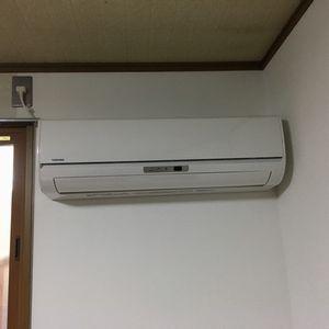 東芝 RAS-2558M エアコン交換工事【京都市北区紫野】