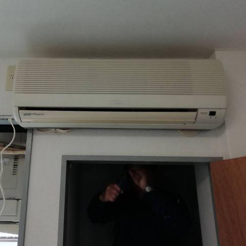 換気扇・エアコンの交換工事【京都市左京区】