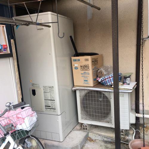 エコキュート 三菱電機 SRT-S374U交換工事【京都市左京区静市】