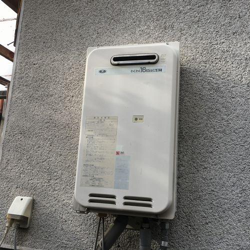 ガス給湯器 RUX-A1616W-E 交換工事【京都市北区】