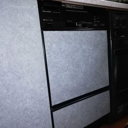 ビルトイン食洗機取替 パナソニック NP-45MC6T 【京都市左京区】