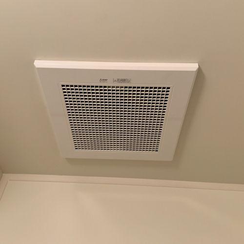 浴室換気扇交換工事 VD-15ZFC10 【京都市中京区】