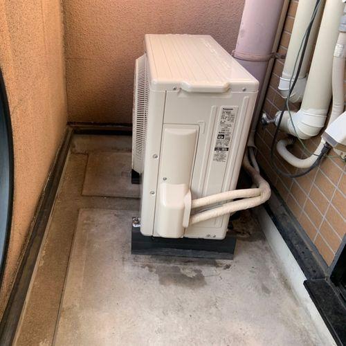 【CS-228CF】パナソニック エアコン交換工事【京都市北区】