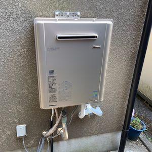 ガス給湯器 リンナイ RUF-E2405SAW交換工事