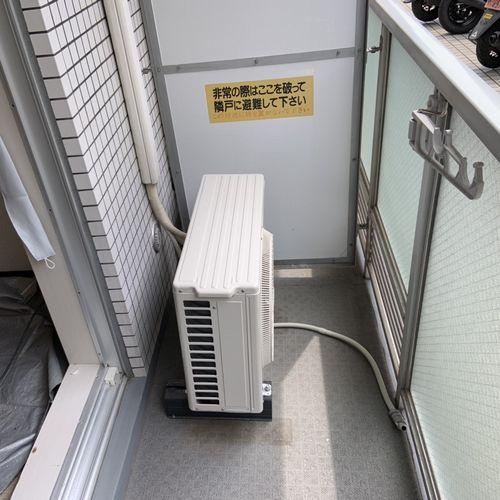 【CS-228CF】パナソニック スタンダードエアコン交換工事【京都市北区】