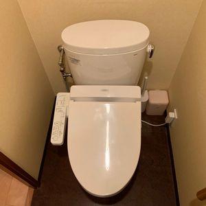 【ピュアレストEX/ウォシュレットSB】トイレ交換工事(京都市北区)