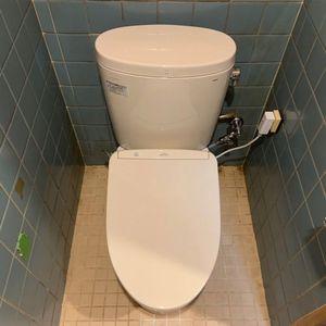【ピュアレストEX】トイレ交換工事(京都市北区)