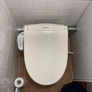 【パナソニック DL-RN20】瞬間式洗浄便座へ交換工事(京都市上京区)