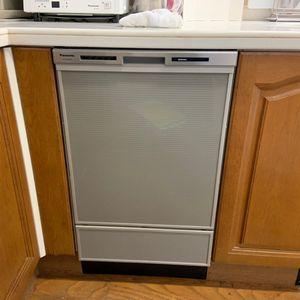 ビルトイン食器洗い機の交換【パナソニック NP-45MD8S】(京都市左京区)