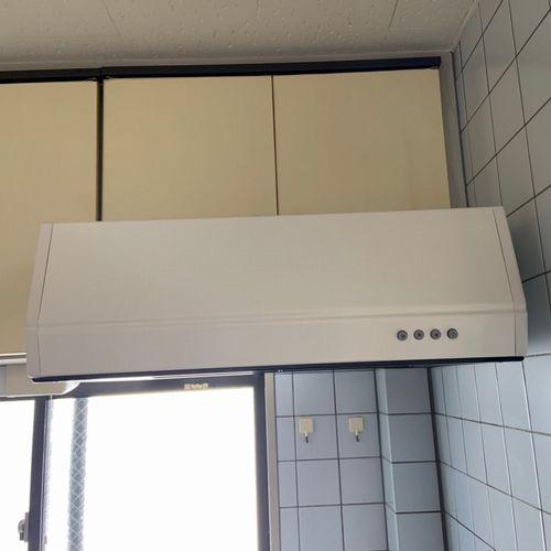 レンジフードの交換【リクシル BFRF622-W】(京都市北区マンション)