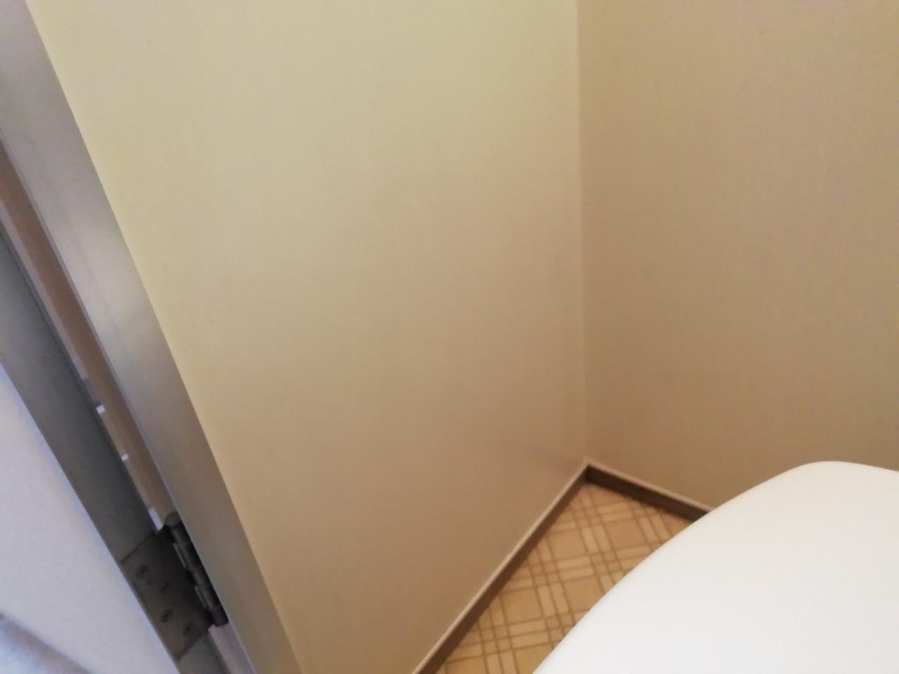 トイレに洗浄便座用のコンセント増設(京都市北区)