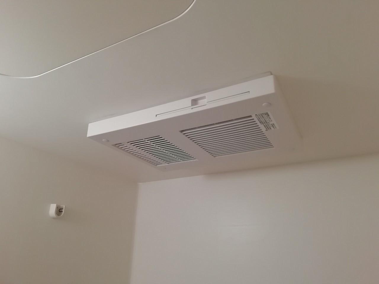 浴室暖房乾燥機の交換工事(マックス BS-132EHA)【京都市左京区高野】