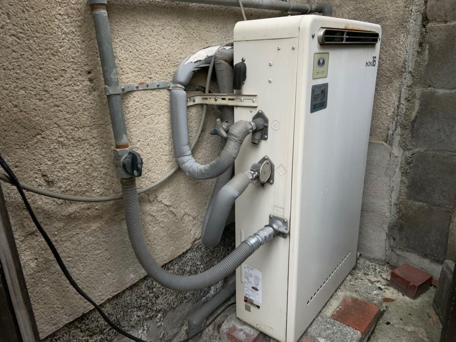 ガス給湯器交換工事【RUF-E1615SAG】(京都市北区大宮)