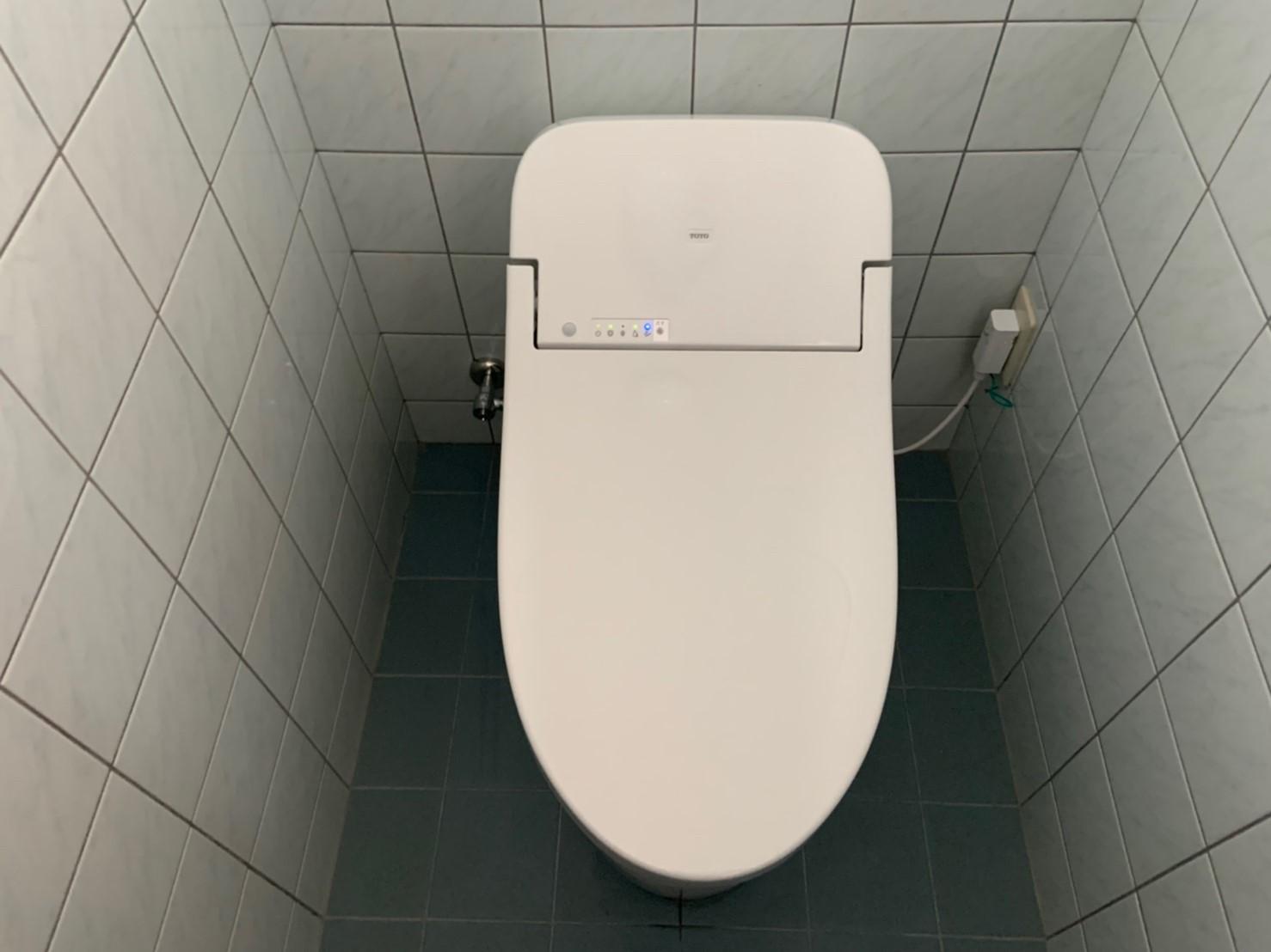 タンク一体型トイレ GGシリーズへ交換工事(CES9415M)【京都市北区西賀茂】