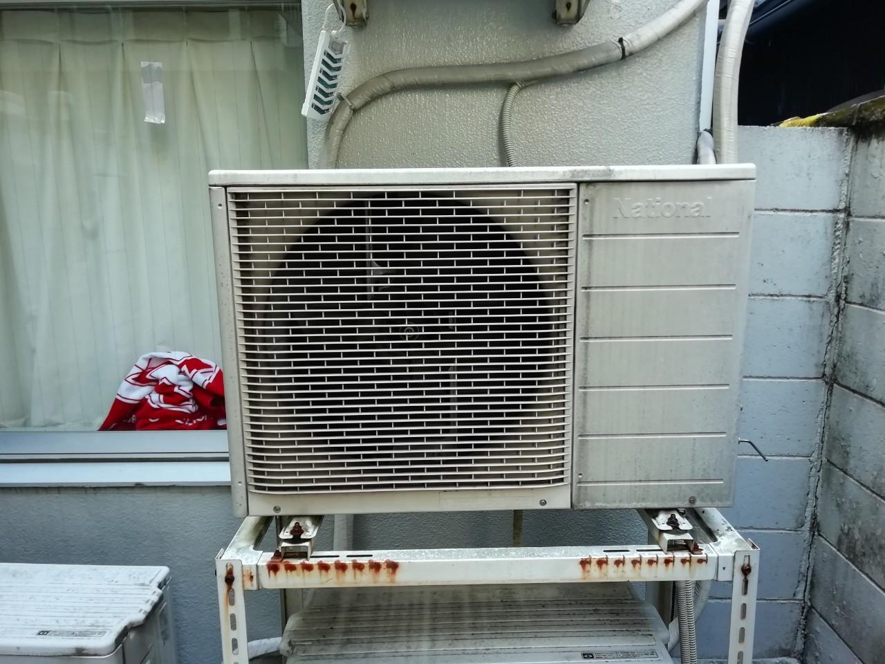 エアコン交換工事|パナソニック CS-229CF|京都市右京区