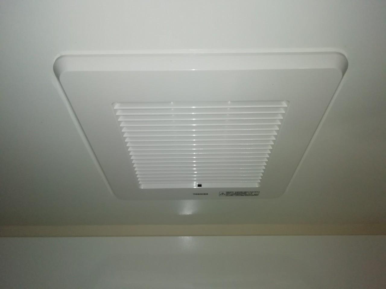 浴室換気扇の交換|DVP-T14CLDK|京都市中京区