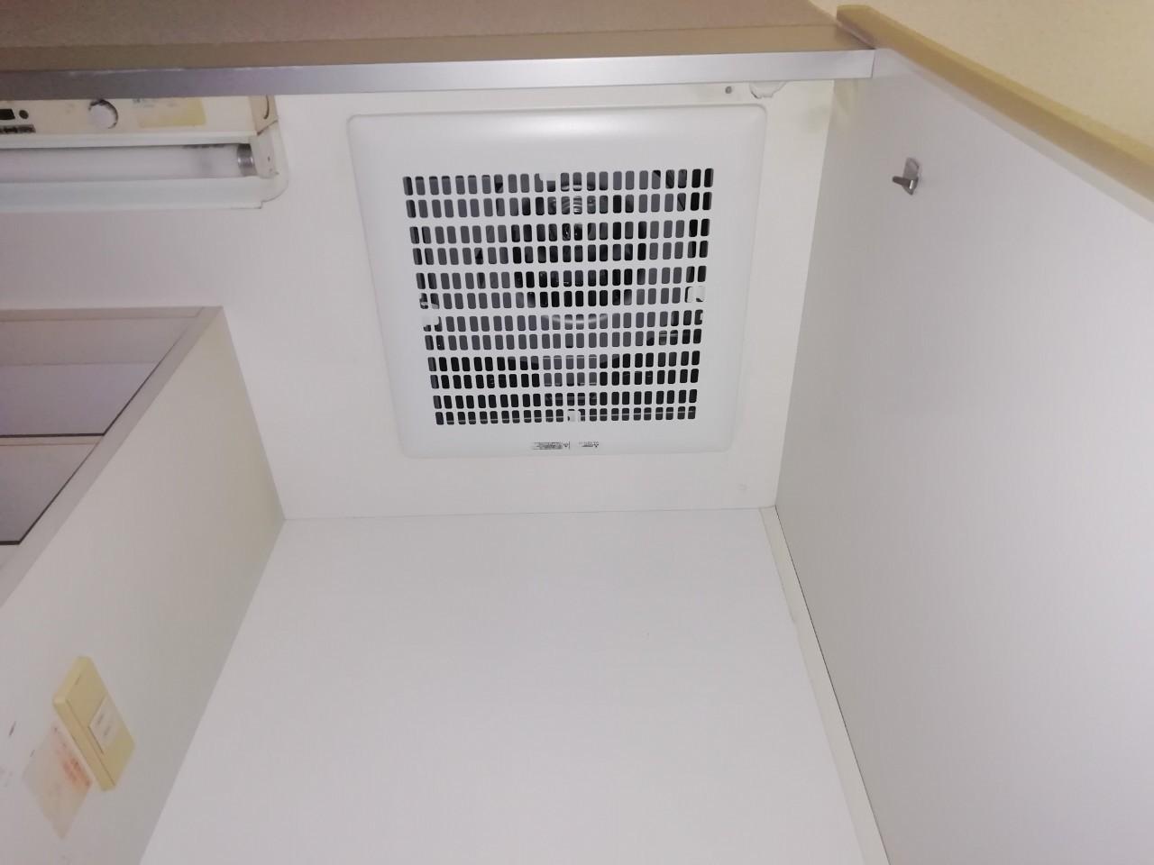 ミニキッチン換気扇の交換|VD-15ZY9|京都市左京区