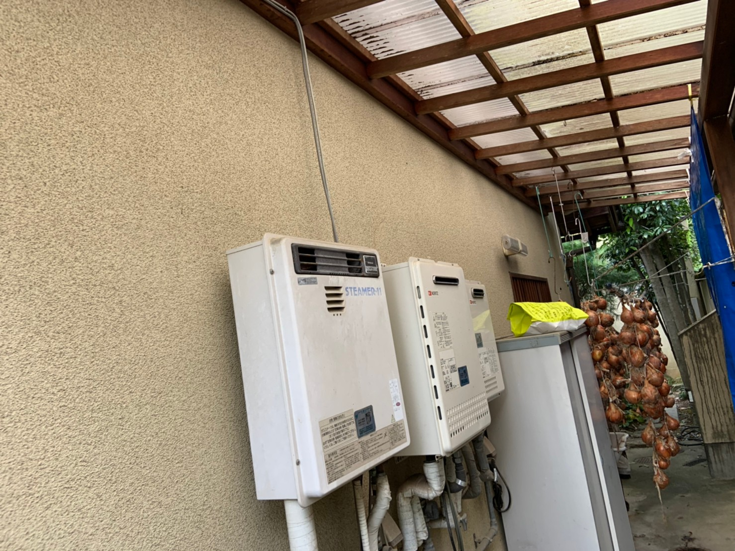 ガス浴室暖房乾燥機の新設工事|RBH-W414K|京都市北区衣笠