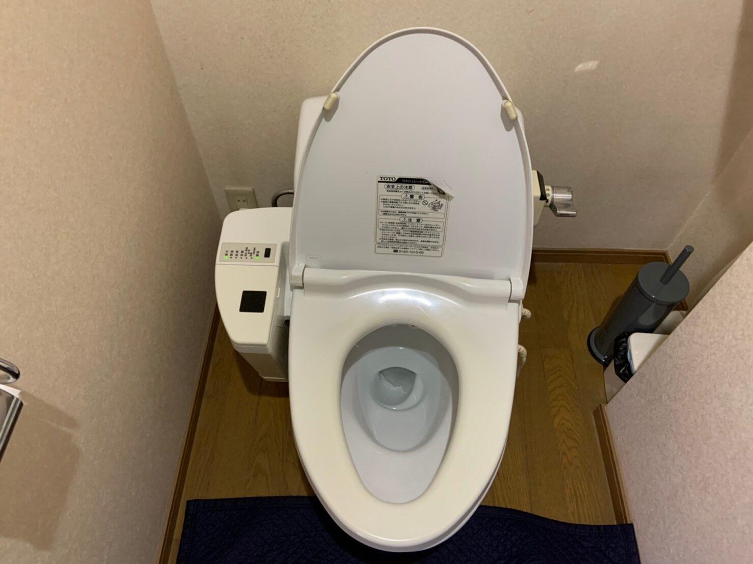 トイレの交換工事|TOTO GG-1 |京都市中京区
