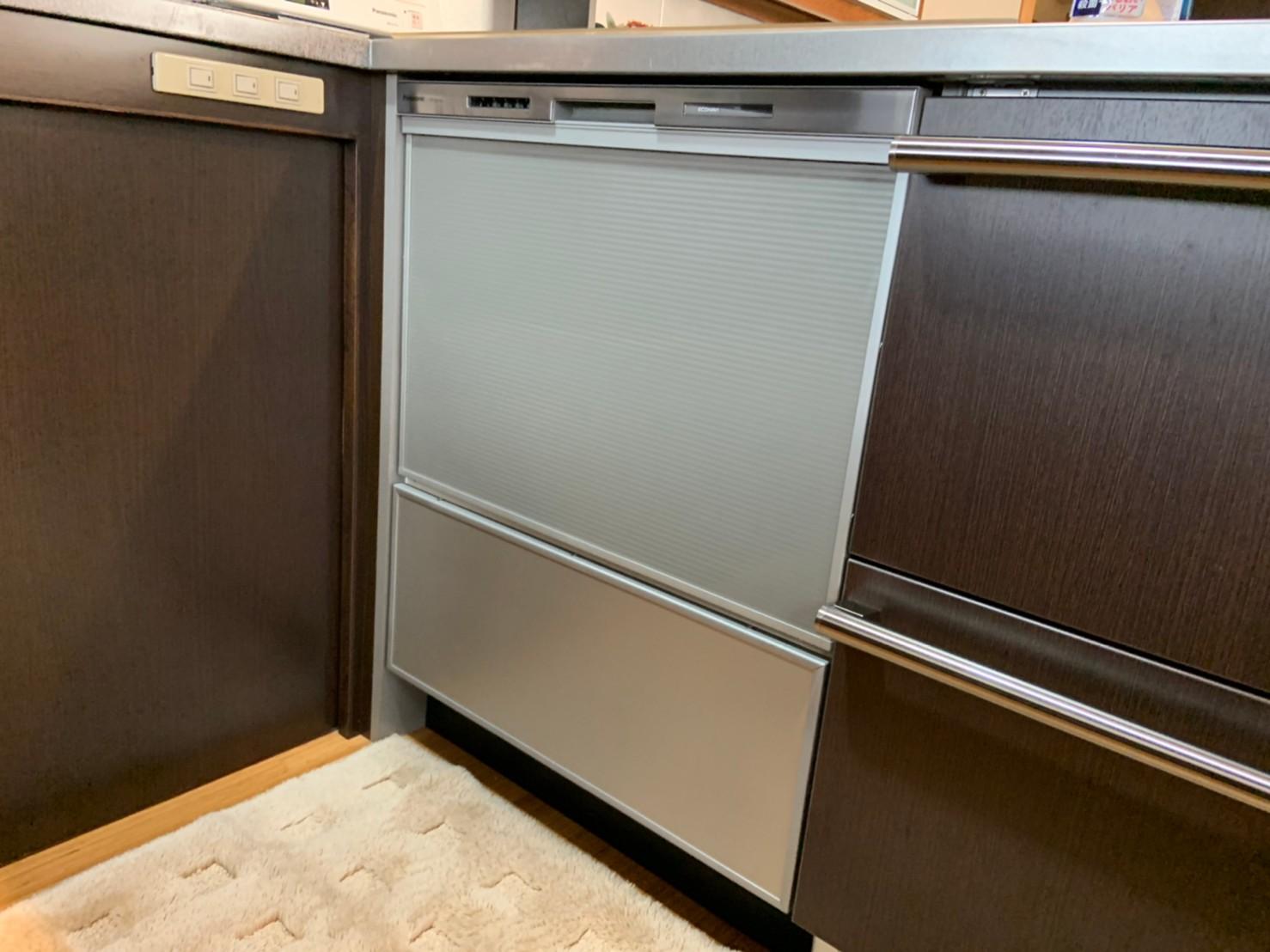 ビルトイン食洗機の交換工事|NP-60MS8S|京都市北区