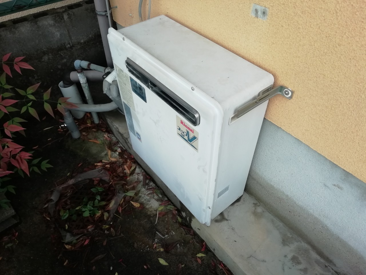 ガス給湯器の交換|RUF-E2405SAG(B)|京都市北区