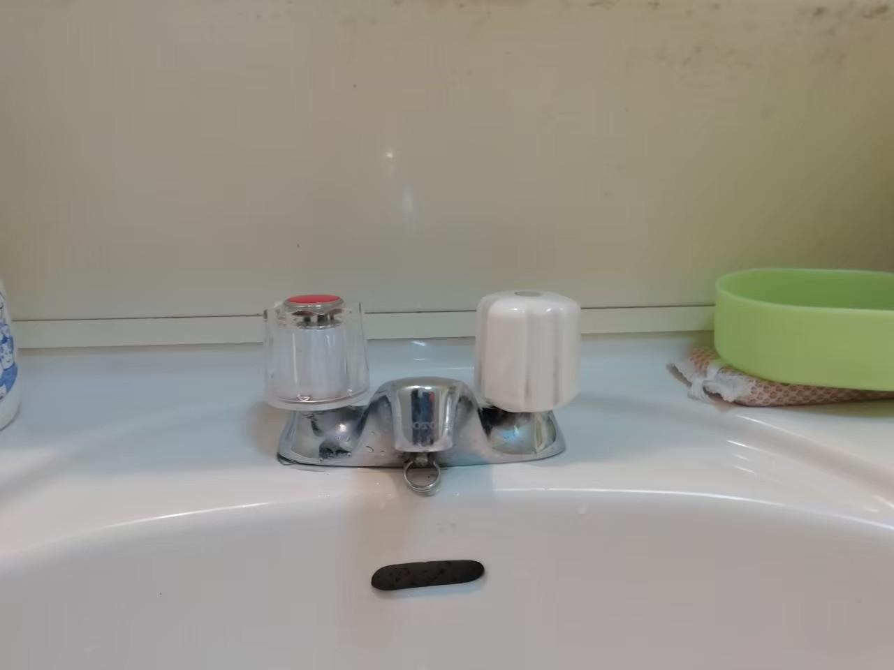 洗面手洗の水栓交換 TLHG30EGR 京都市北区